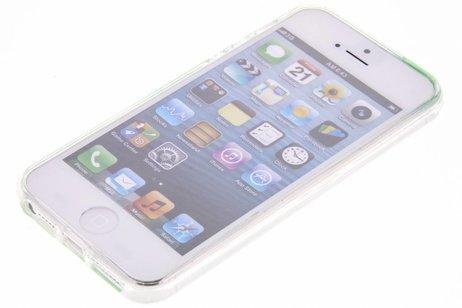 Fabienne Chapot Design Softcase Backcover voor iPhone SE / 5 / 5s - Citrus Leaf