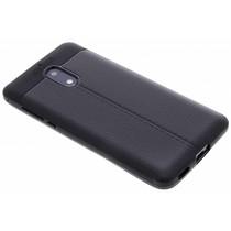 Lederen Backcover met stiksel Nokia 6