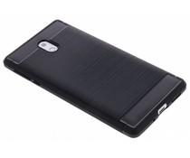 Zwart Brushed TPU Case Nokia 3
