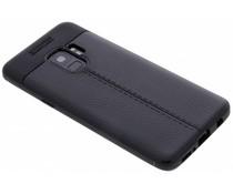 Lederen Backcover met stiksel Samsung Galaxy S9