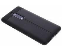 Lederen Backcover met stiksel Nokia 5