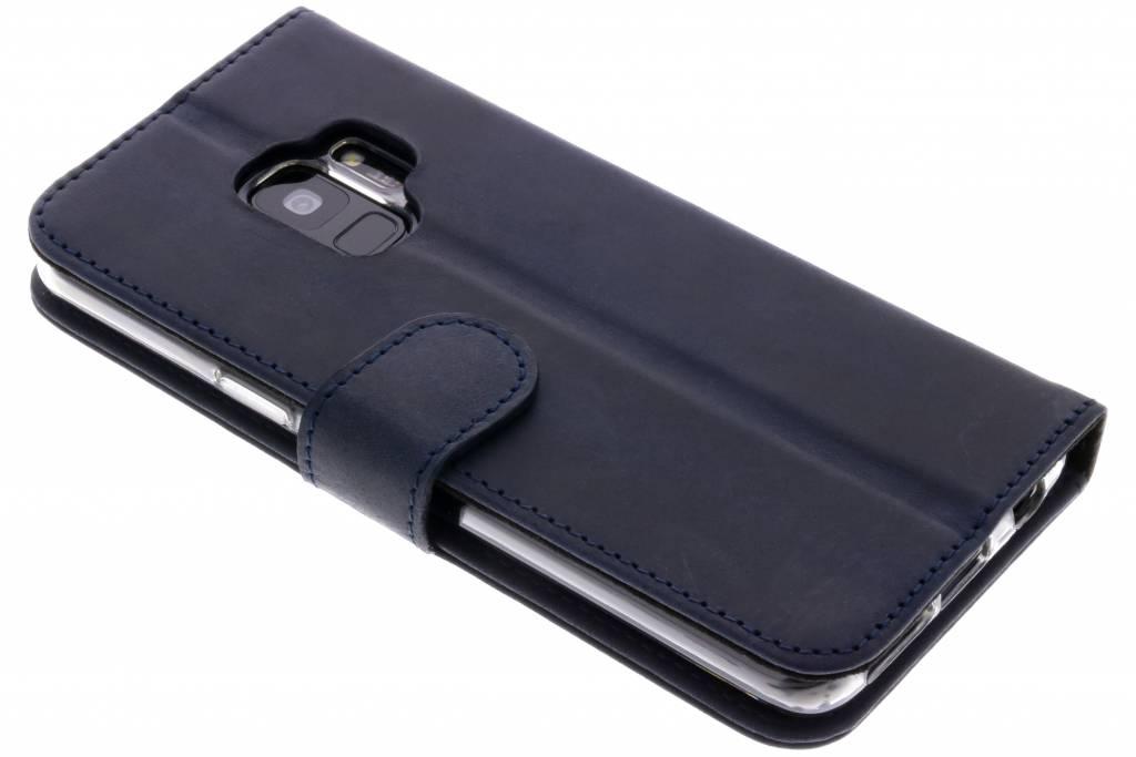 Valenta Classic Luxe Booktype voor Samsung Galaxy S9 - Blauw