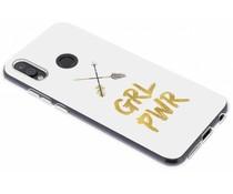 Quote design TPU hoesje Huawei P20 Lite