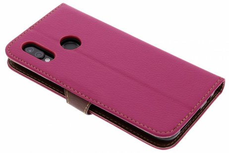 Huawei P20 Lite hoesje - Blad Design Booktype voor