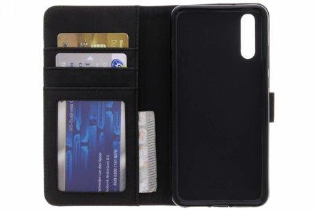 Huawei P20 hoesje - Luxe Lederen Booktype voor