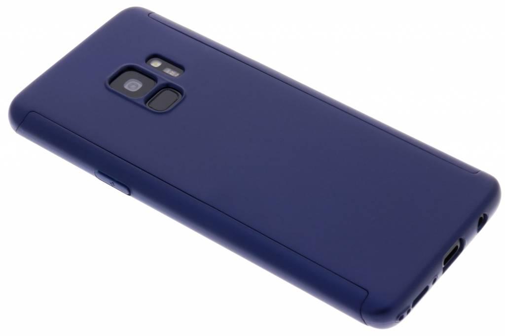 360° Effen Protect Backcover voor Samsung Galaxy S9 - Blauw