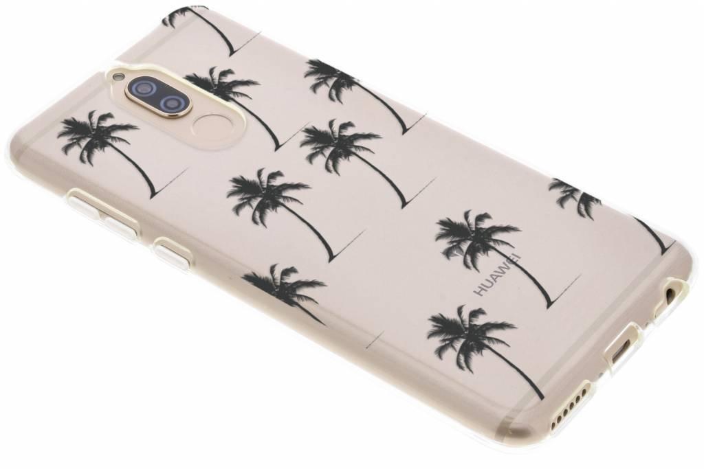Design Backcover voor Huawei Mate 10 Lite - Palmtrees