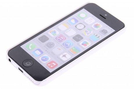 Effen Backcover voor iPhone 5c - Wit