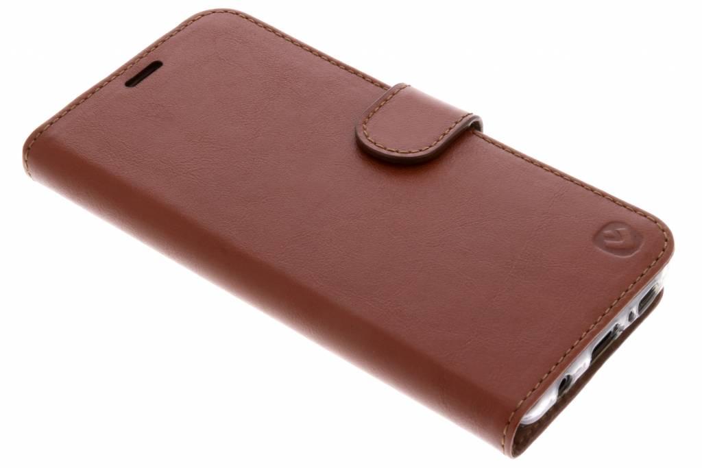 Valenta Premium Booktype voor Samsung Galaxy S9 - Bruin