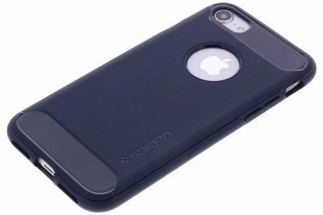 Spigen Rugged Armor Backcover voor iPhone 8 / 7 - Blauw