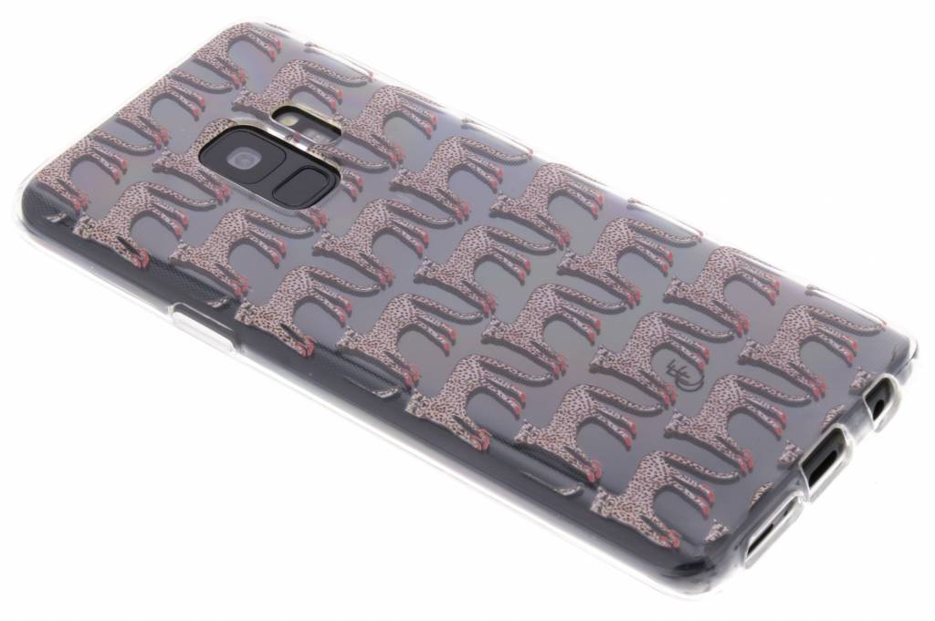 Fabienne Chapot Design Softcase Backcover voor Samsung Galaxy S9 - Cheetah
