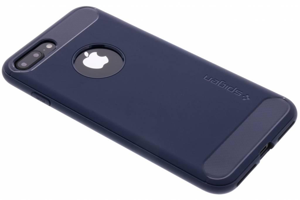 Spigen Rugged Armor Backcover voor iPhone 8 Plus / 7 Plus - Blauw