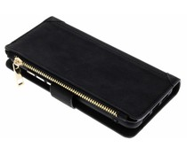 Zwart Luxe portemonnee hoes Huawei P20