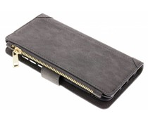 Grijs Luxe portemonnee hoes Huawei P20