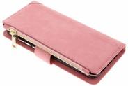 Luxe Portemonnee voor Huawei P20 - Roze