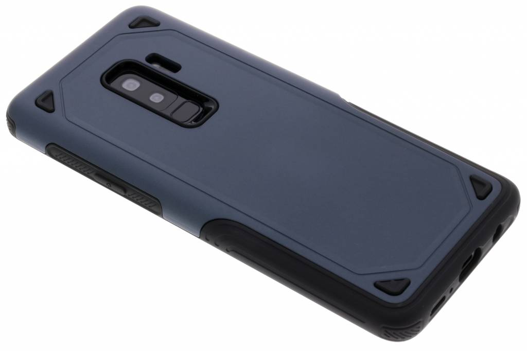 Rugged Hardcase Backcover voor Samsung Galaxy S9 Plus - Blauw