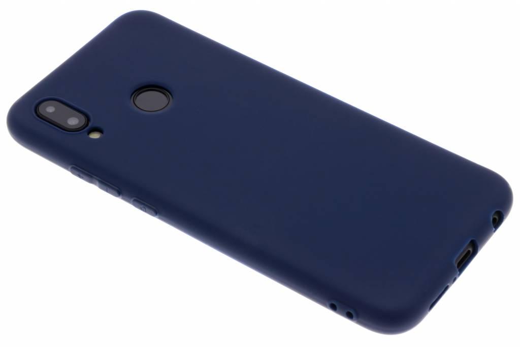 Color Backcover voor Huawei P20 Lite - Blauw
