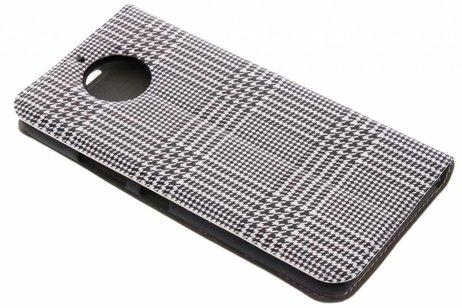 Motorola Moto G6 Plus hoesje - Design Hardcase Booktype voor