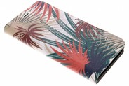 Design Hardcase Booktype voor Motorola Moto G5S Plus - Botanic