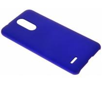 Blauw Effen hardcase hoesje LG K11