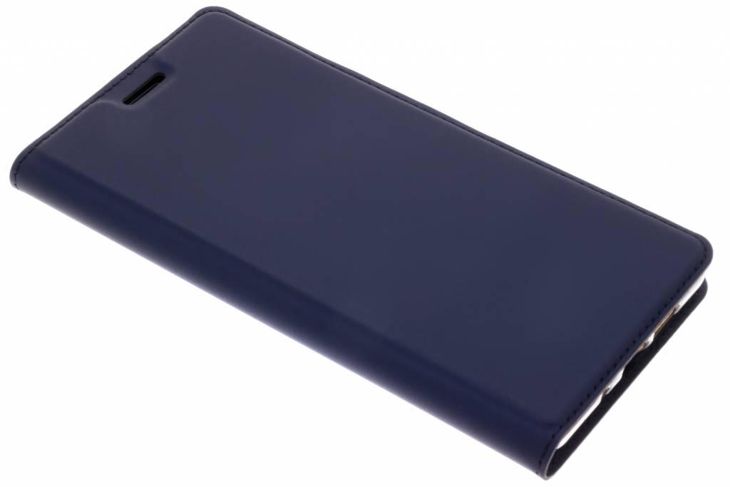 Dux Ducis Slim Softcase Booktype voor Nokia 7 Plus - Donkerblauw