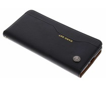 Zwart Card set booktype hoes Sony Xperia XZ2