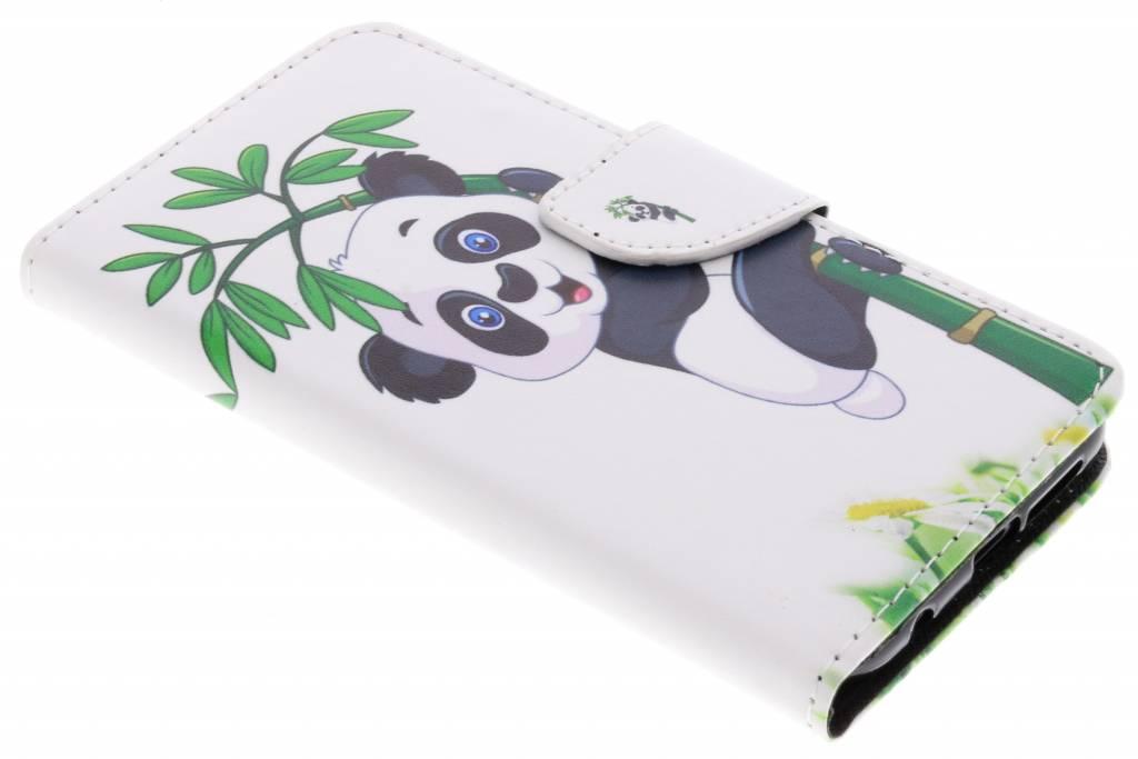 Panda in boom design TPU booktype hoes voor de Huawei P20 Lite