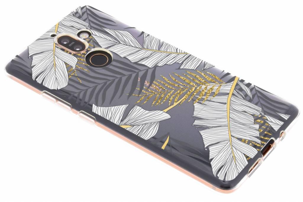 Design Backcover voor Nokia 7 Plus - Glamour Botanic