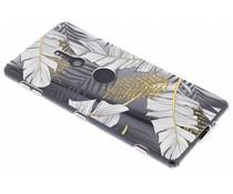 Botanic design siliconen hoesje Sony Xperia XZ2