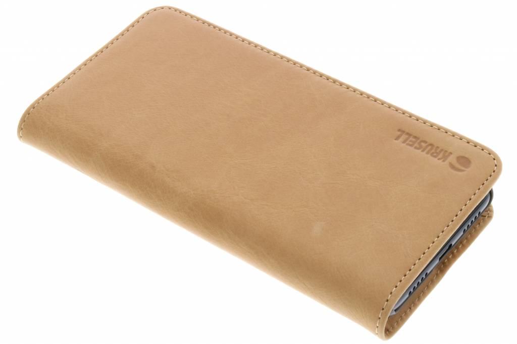 Krusell Bruine Sunne Folio Wallet voor de Huawei P20 Pro