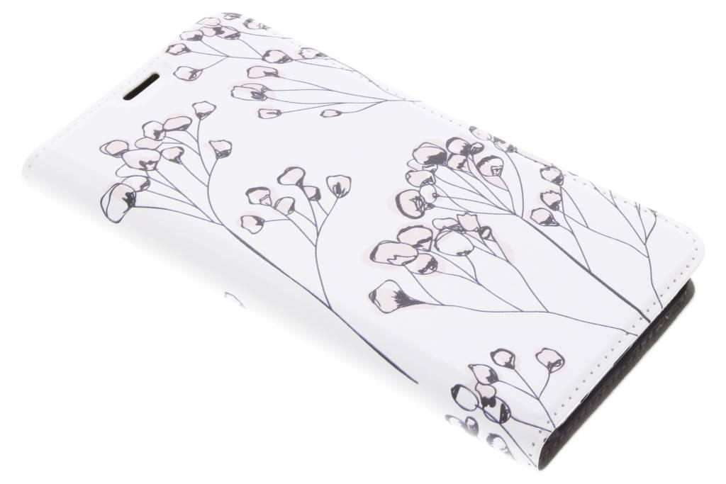 Bloemen Design Booklet voor de Samsung Galaxy S8 Plus