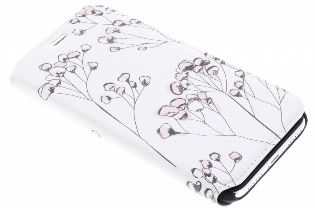 Bloemen Design Booklet voor de iPhone Xs / X
