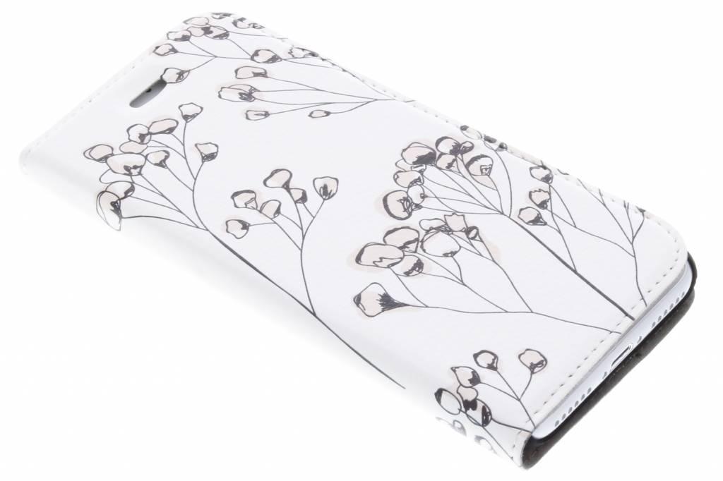 Bloemen Design Booklet voor de iPhone 8 / 7