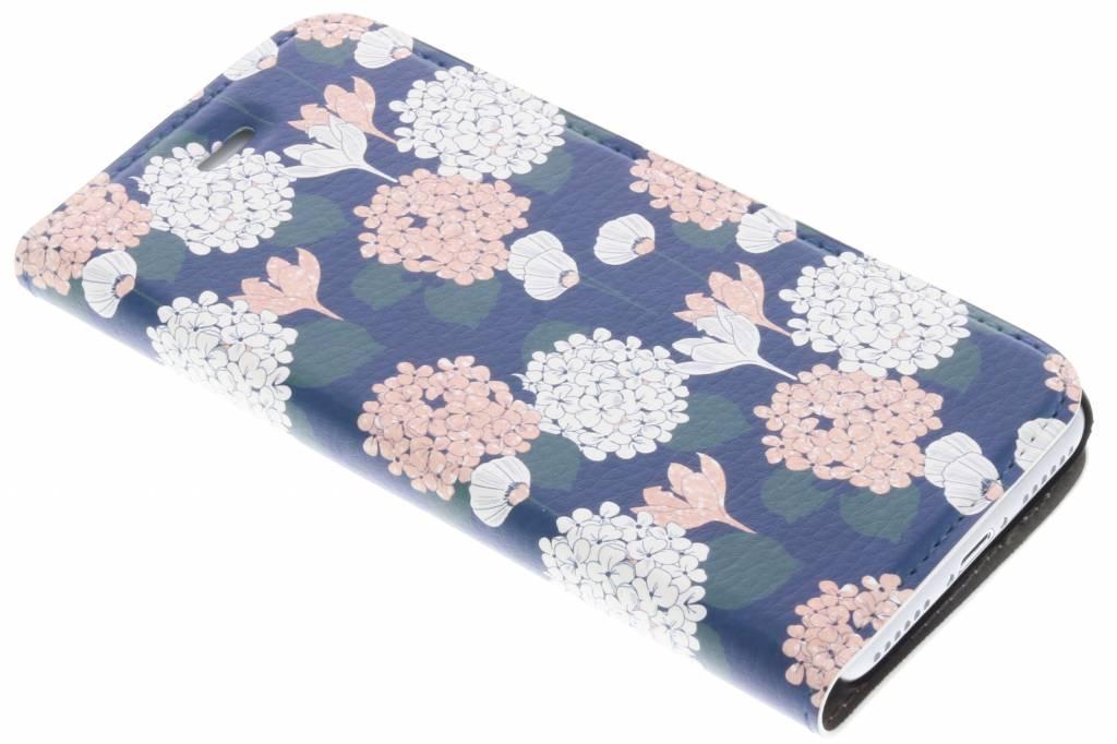 Bloemen Pastel Design Booklet voor de iPhone 8 / 7