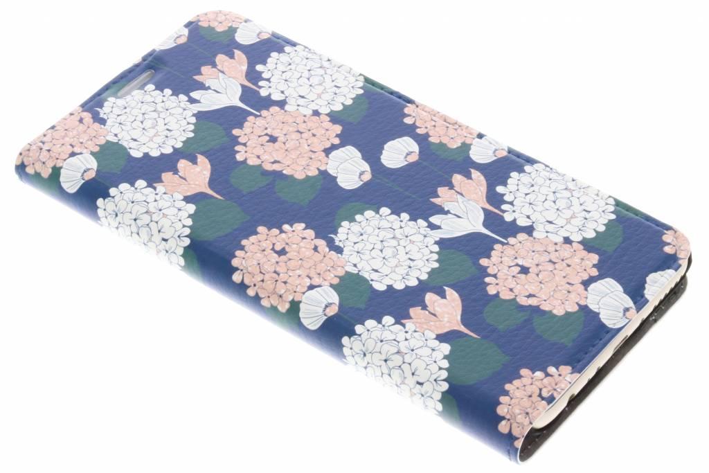 Bloemen Pastel Design Booklet voor de Huawei Mate 10 Lite