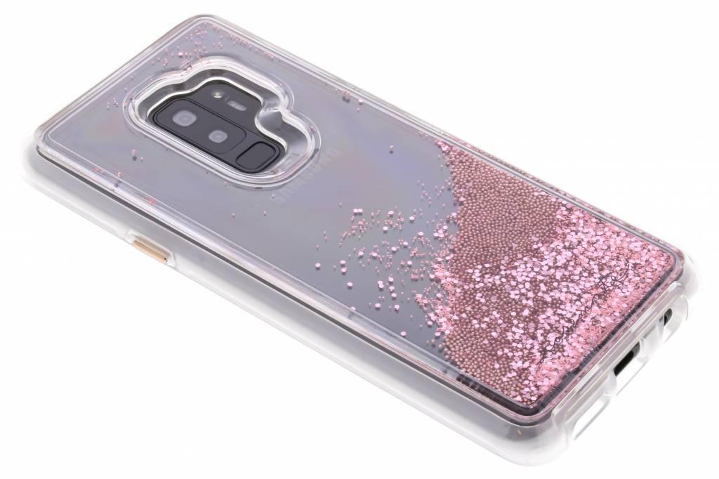 Case-Mate Roze Naked Tough Waterfall Case voor de Samsung Galaxy S9 Plus