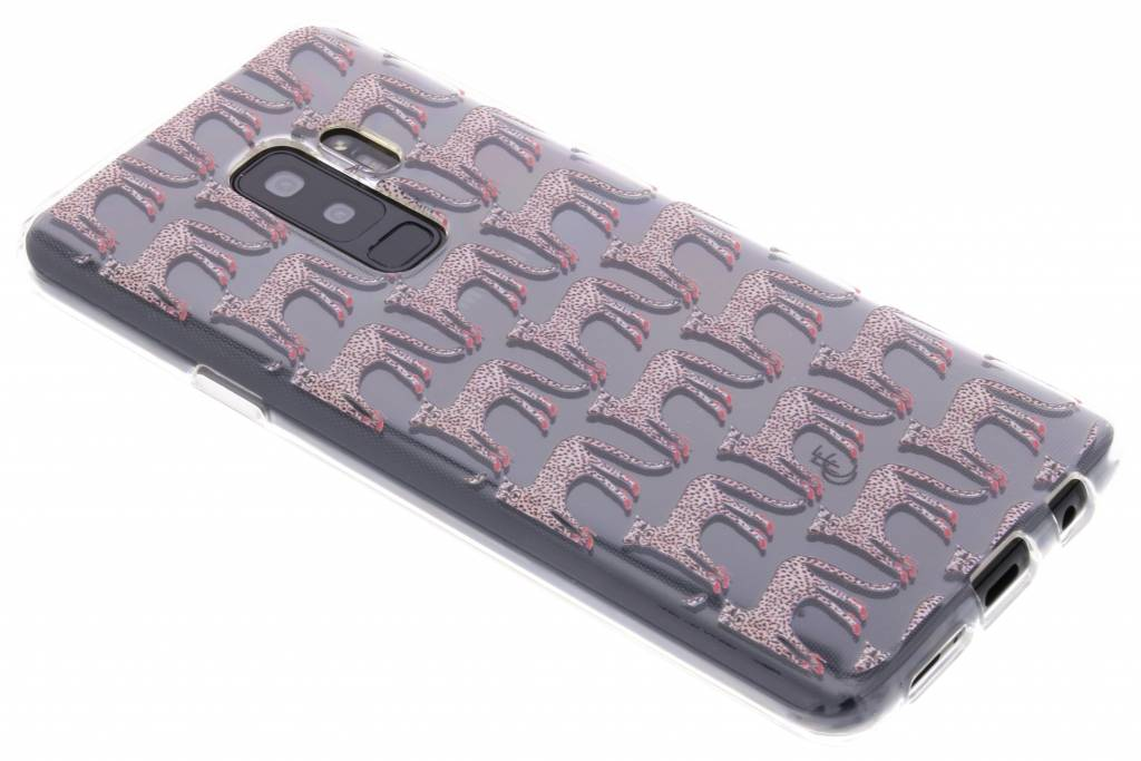 Fabienne Chapot Design Softcase Backcover voor Samsung Galaxy S9 Plus - Cheetah