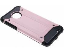 Rosé Goud Rugged Xtreme Case Motorola Moto E5 / Moto G6 Play