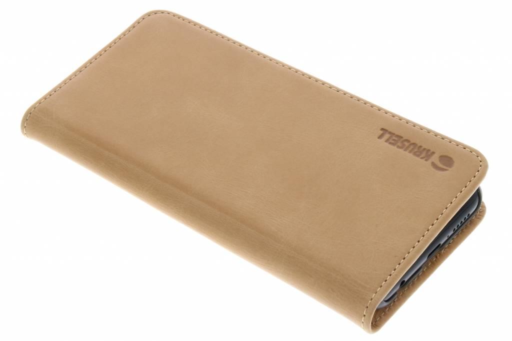 Krusell Bruine Sunne Folio Wallet voor de Huawei P20 Lite