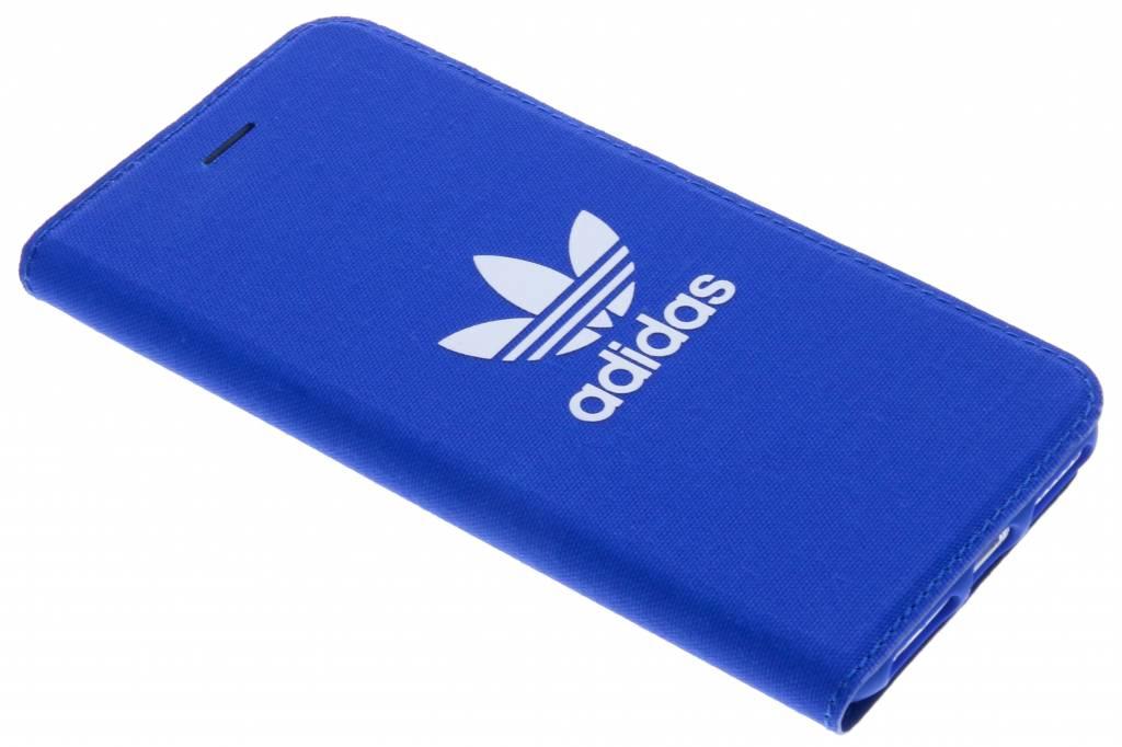 adidas Originals Blauwe Adicolor Booklet Case voor de iPhone 8 / 7 / 6s / 6