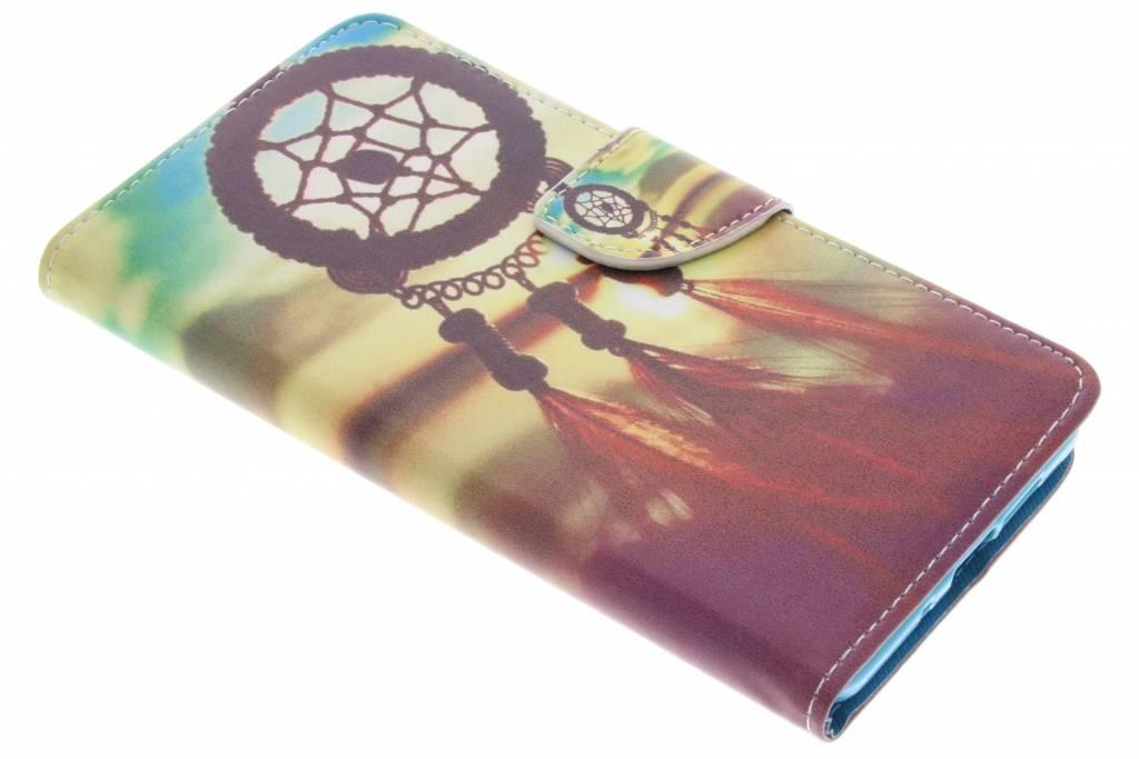 Dromenvanger design TPU booktype hoes voor de Nokia 7 Plus
