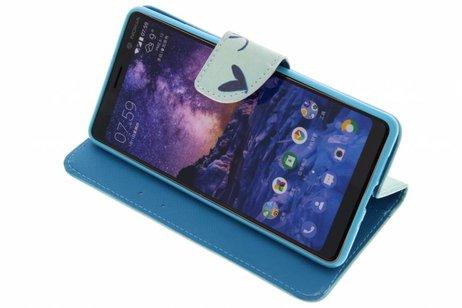 Nokia 7 Plus hoesje - Design Softcase Booktype voor