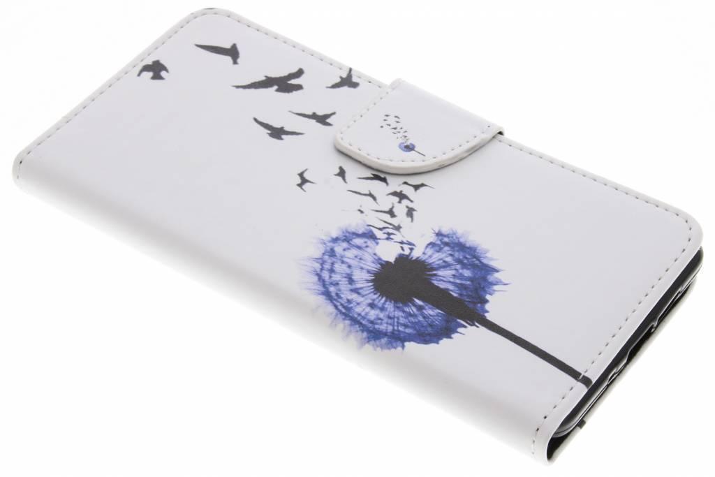 Paardenbloem design TPU booktype hoes voor de Nokia 7 Plus