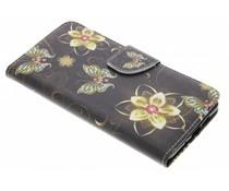 Design TPU booktype hoes Nokia 7 Plus