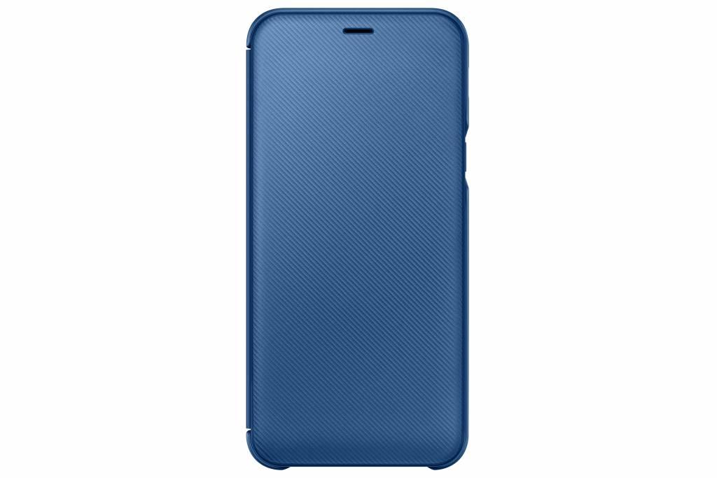 Samsung Wallet Booktype voor Samsung Galaxy A6 (2018) - Blauw