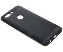 Zwart Brushed TPU case OnePlus 5T