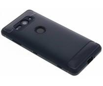 Donkerblauw Brushed TPU Case Sony Xperia XZ2 Compact