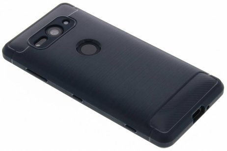 Sony Xperia XZ2 Compact hoesje - Brushed Backcover voor Sony