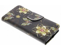 Design Softcase Booktype Sony Xperia XZ2 Compact