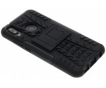 Zwart Rugged Hybrid Case Huawei P20 Lite